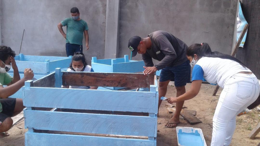 AÇÃO NO BAIRRO: Lixeiras para o Jacundá