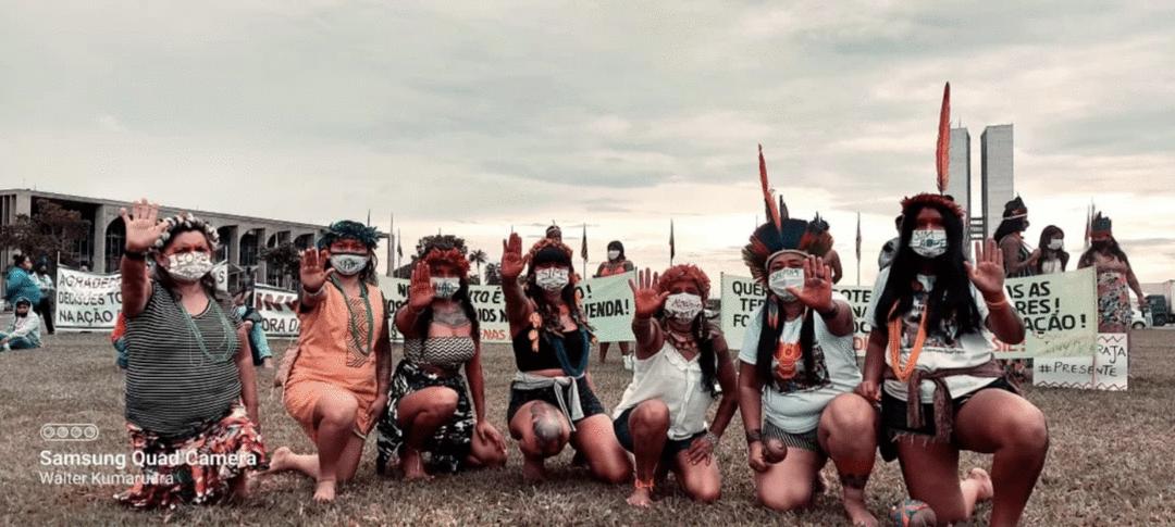 A voz das mulheres no Acampamento Terra Livre 2021