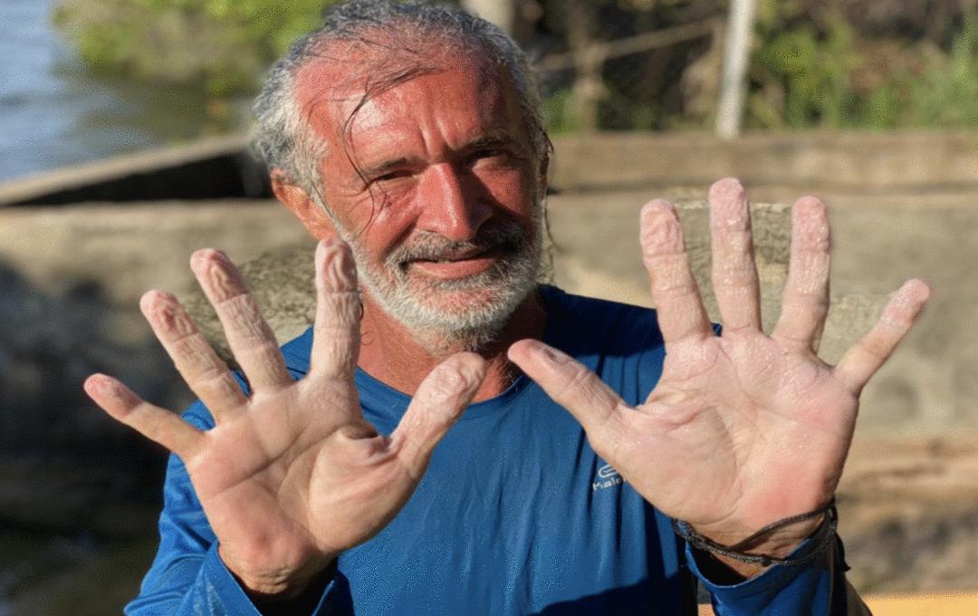 Eduardo Serique e a canoa cósmica