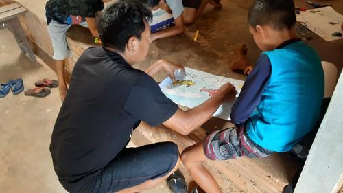 Projeto Tapajós Solar promove oficinas com crianças e adolescentes de Comunidade na Flona do Tapajós