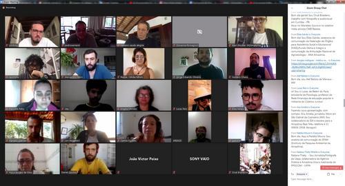 Formação de rede de comunicadores voluntários contra o desmatamento ilegal