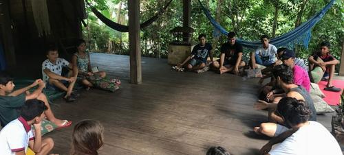Jovens de Alter e do Caranazal participam de oficinas gratuitas do Projeto Caju