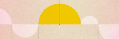 Vidas e o por-do-sol no horizonte de dados