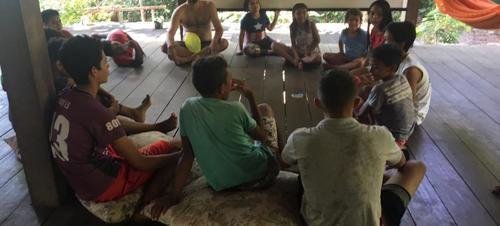 Jovens de Alter e do Caranazal participam de oficinas gratuitas do Caju