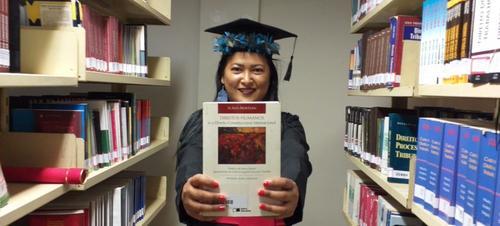 Vândria Borari, a primeira indígena Bacharel em Direito formada na UFOPA